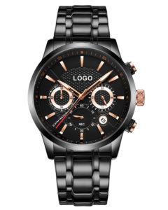 OEM Stainless Steel Men's Chronometer Watch