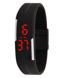 Colorful Touch Screen LED Silicon Digital Watch
