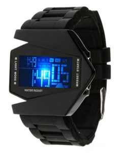 Hot Selling Silicon Sport Watch With Colorful LED Digital Display