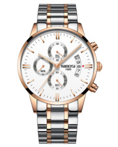 Chronograph Quartz NIBOSI Men's Watch