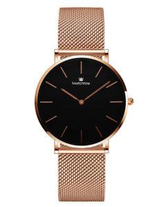 32mm Ultra Thin Lady Minimalist Watch Rose Gold