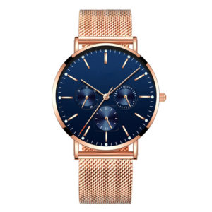 Super Thin Men's Fashion Chronograph Quartz Wrist Watches