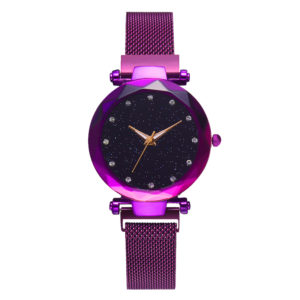 Hot Selling Fashion Lady Wristwatch With Magnetic Mesh Band