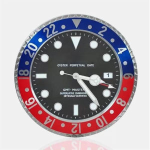 14 Inch Luxurious Stainless Steel Analog Hanging Wall Clock