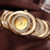Custom Fashion Ladies' Luxury Jewelry Gold Watch (1)