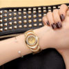 Custom Fashion Ladies' Luxury Jewelry Gold Watch (7)