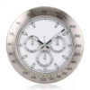 Custom Wholesale Luxurious Stainless Steel Analog Wall Clock (2)