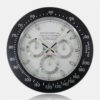 Custom Wholesale Luxurious Stainless Steel Analog Wall Clock (4)