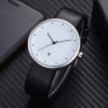 Customize Genuine Leather Strap Elegant Fashion Watch with Date (6)