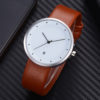 Customize Genuine Leather Strap Elegant Fashion Watch with Date (7)