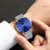 Drop Shipping 1208 SWATCHTIME Relogio Japan Movement Minimalist Unisex Watch Casual Fashion Quartz Wristwatch (4)