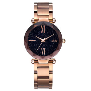 Hot Selling Stainless Steel Band Fashion Lady Wristwatch With Japan Movement