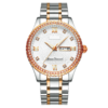 Custom LOGO Classic Men's Luxury Diamond Watch (1)