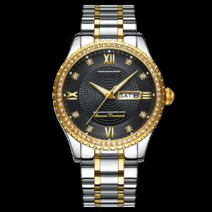 Custom LOGO Classic Men's Luxury Diamond Watch