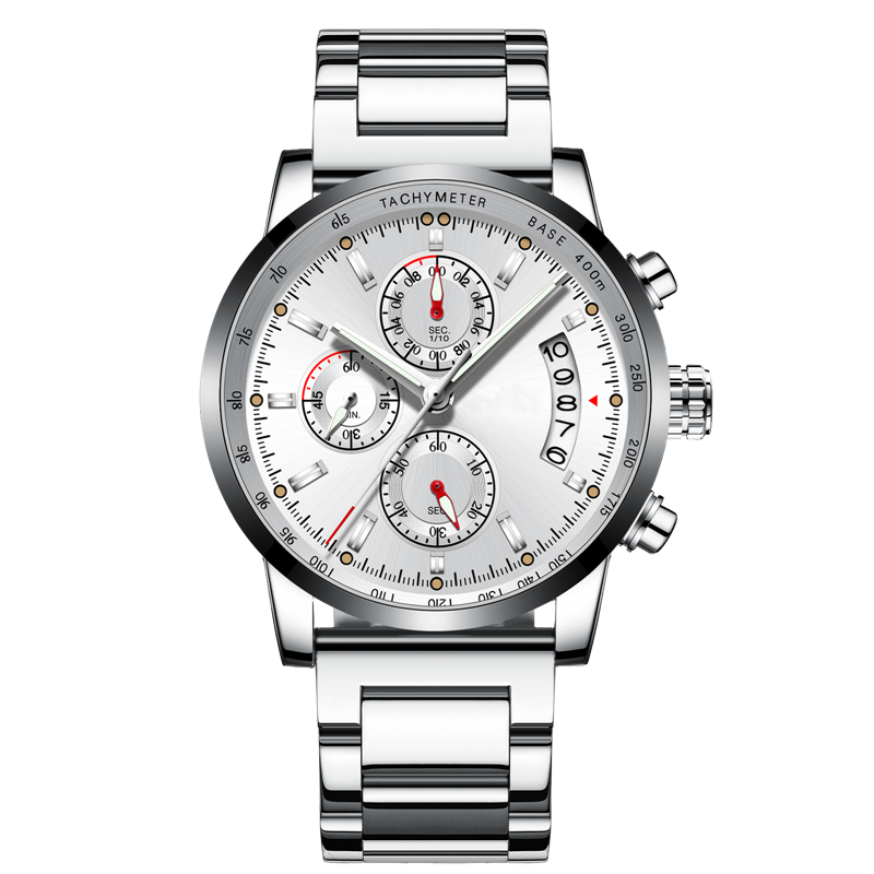 Custom LOGO Mens Casual Chronograph Watches - Swatchtime