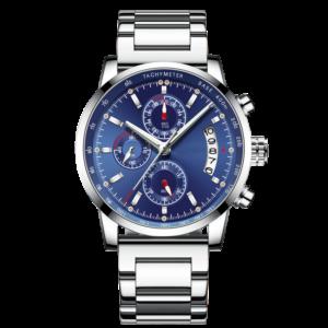 Custom LOGO Mens Casual Chronograph Watches