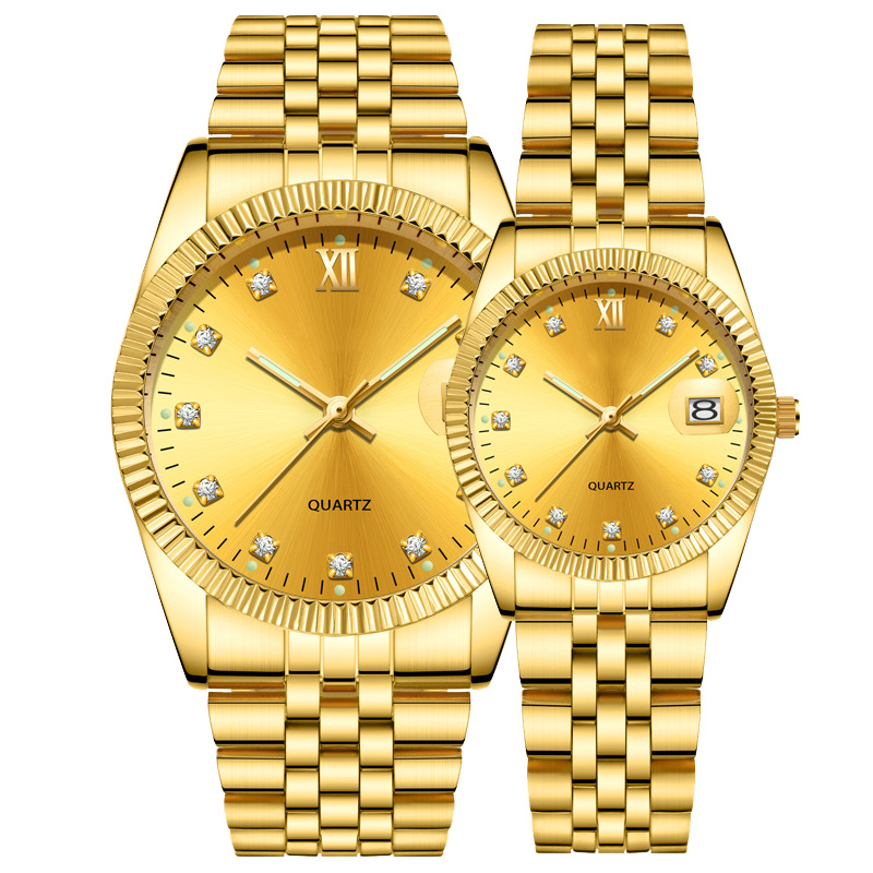 2888f052df6 Watch Factory Custom Classic Couple Wristwatches.